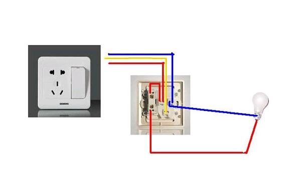 墙壁开关如何接线